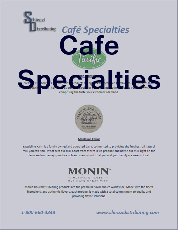 Cafe Specialities